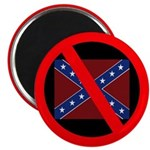 Anti-Confederate Flag Magnet