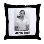 Lee Patsy Oswald Throw Pillow
