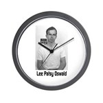 Lee Patsy Oswald Wall Clock