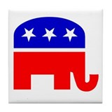 Republican - Tile Coaster #1
