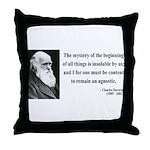 Charles Darwin 7 Throw Pillow