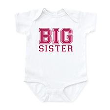 big sister varsity Onesie