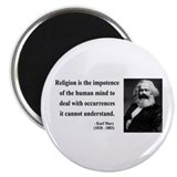 Karl Marx 2 2.25&quot; Magnet (100 pack)
