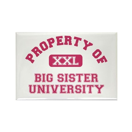 big sister varsity Rectangle Magnet