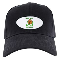 Halloween Trick & Retreat pumpkin Black Cap