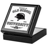 Old School Biker Keepsake Box