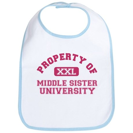 middle sister university Bib