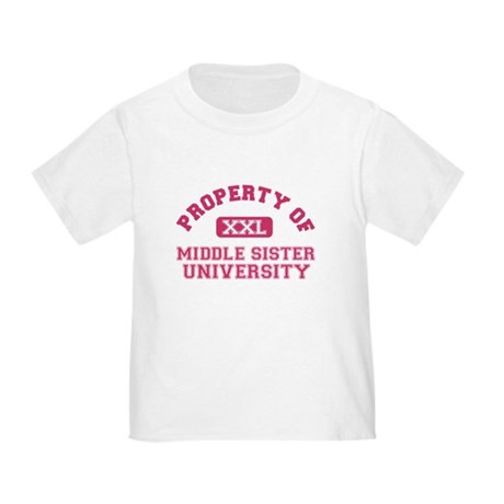 middle sister university Toddler T-Shirt