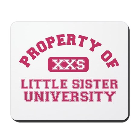 little sister university Mousepad