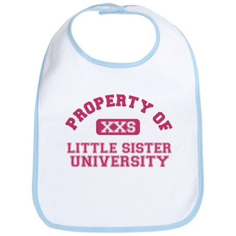 little sister university Bib
