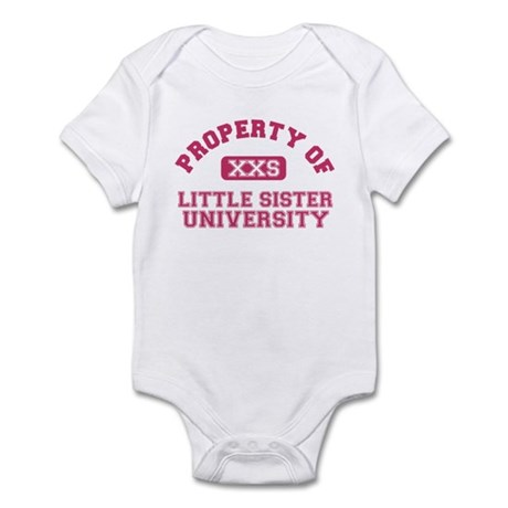 little sister university Infant Bodysuit