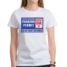 CIA Parking Permit Tee