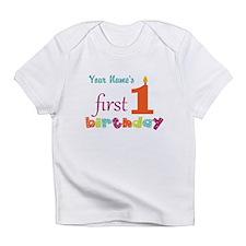 First Birthday - Pe... Infant T-Shirt