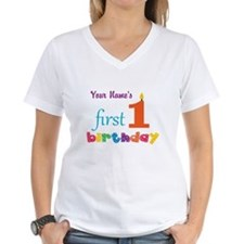 First Birthday - Personaliz Shirt
