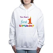 First Birthday - Persona Women's Hooded Sweatshirt