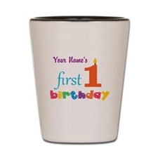 First Birthday - Personalized Shot Glass