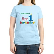 First Birthday - Personalize T-Shirt