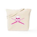 Master Flute Skull Tote Bag