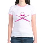 Master Flute Skull Jr. Ringer T-Shirt