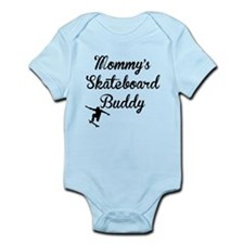 Mommys Skateboard Buddy Body Suit
