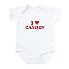 I LOVE CAYDEN Infant Bodysuit