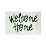 Cute Military welcome home Rectangle Magnet