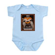 Cute English bulldogs Infant Bodysuit