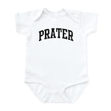 PRATER (curve-black) Infant Bodysuit