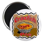 Crawfish Pie Magnet