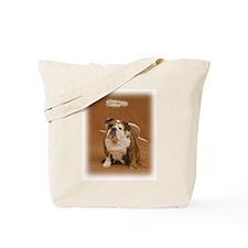 Chubby Angel-Gold Tote Bag