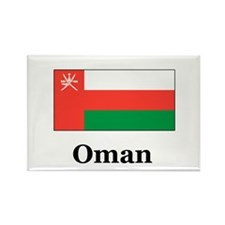 Oman Rectangle Magnet (100 pack)