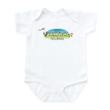 Happy B-Day Julianna (farm) Infant Bodysuit
