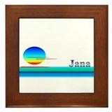 Jana Framed Tile