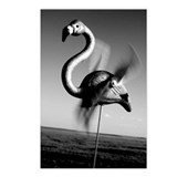 Fine Art Flamingo Products Postcards (Package of 8