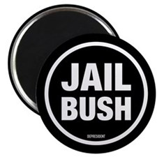 "Jail Bush 2.25"" Magnet (100 pack)"