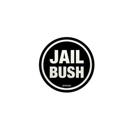 Jail Bush Mini Button (10 pack)