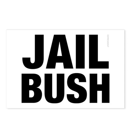 Jail Bush Postcards (Package of 8)