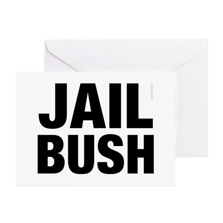Jail Bush Greeting Cards (Pk of 10)