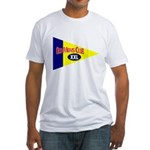 Old Mens Club Fitted T-Shirt