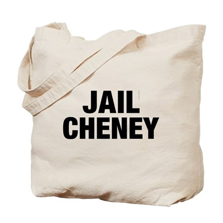 Jail Cheney Tote Bag