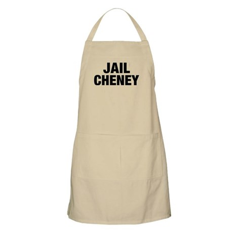 Jail Cheney BBQ Apron