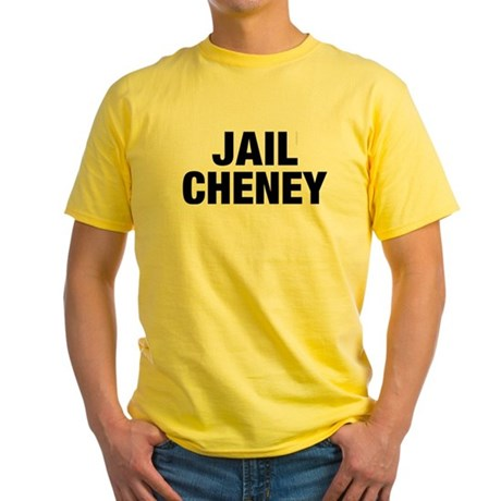 Jail Cheney Yellow T-Shirt