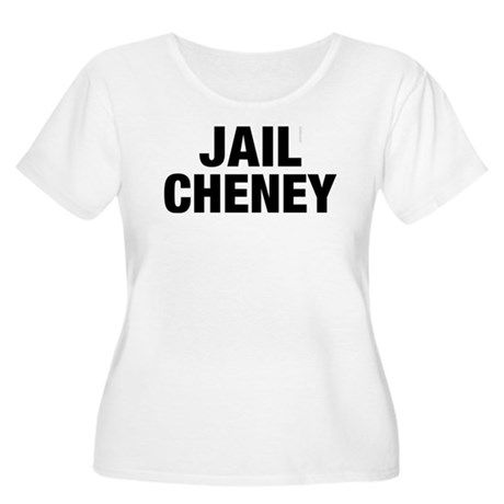 Jail Cheney Plus Size Scoop Neck Shirt