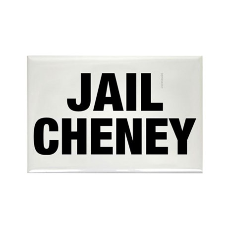 Jail Cheney Rectangle Magnet