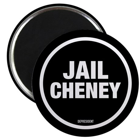 "Jail Cheney 2.25"" Magnet (100 pack)"