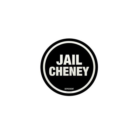 Jail Cheney Mini Button (100 pack)