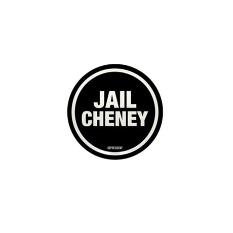 Jail Cheney Mini Button
