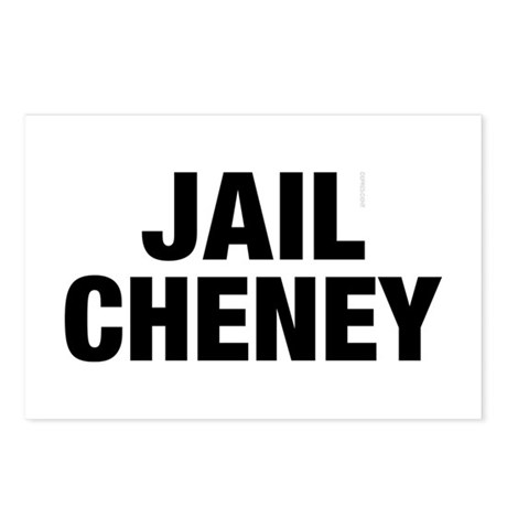 Jail Cheney Postcards (Package of 8)