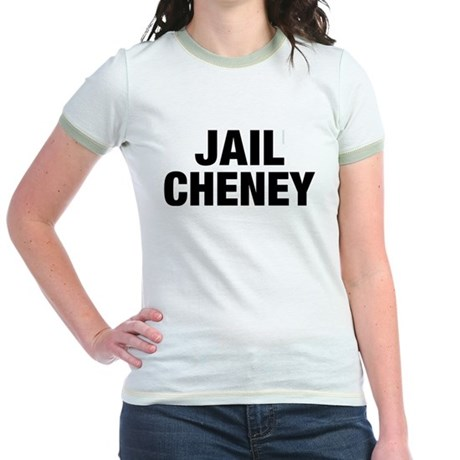 Jail Cheney Jr Ringer T-Shirt