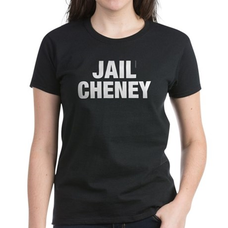 Jail Cheney Womens Black Tee